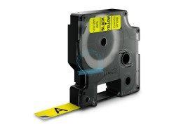 Standardowa taśma Dymo D1 - 12mm x 7m - czarny/żółta
