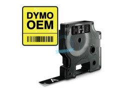 Taśma Dymo  D1 12mm x 7m BIAŁY/CZARNY wersja OEM